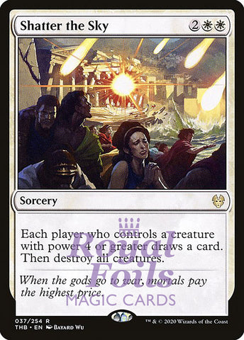 **1x FOIL Shatter the Sky** THB MTG Theros Beyond Death Rare MINT white