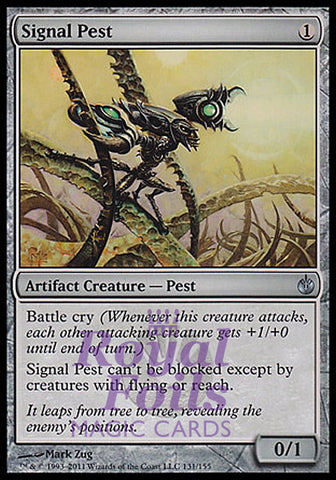 **1x FOIL Signal Pest** MBS MTG Mirrodin Besieged Uncommon NM artifact