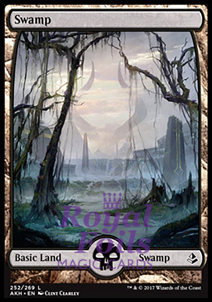 Swamp 252 Magic The Gathering Theros Beyond Death Card