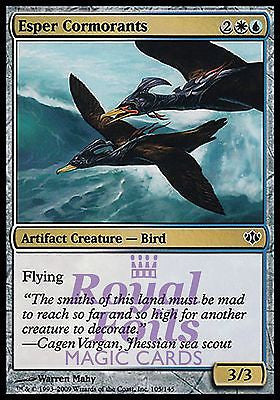 **4x FOIL Esper Cormorants** CON MTG Conflux MINT white blue artifact