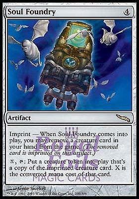**1x FOIL Soul Foundry** MDN MTG Mirrodin Rare MINT artifact