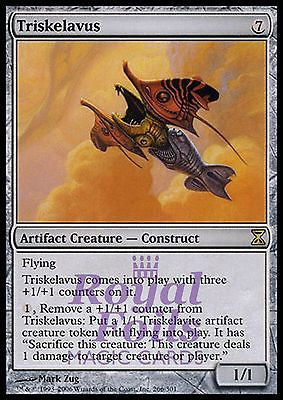 **1x FOIL Triskelavus** TSP MTG Time Spiral Rare NM artifact