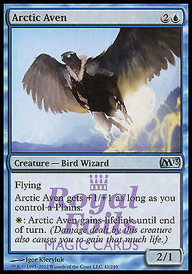 **3x FOIL Arctic Aven** MTG M13 Core Set Uncommon MINT blue