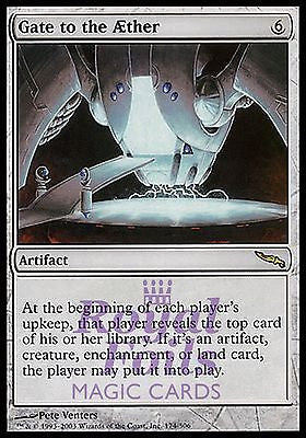 **1x FOIL Gate to the Aether** MDN MTG Mirrodin Rare MINT artifact