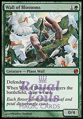 **1x FOIL Wall of Blossoms** MTG FTV From the Vault Twenty 20 MINT green