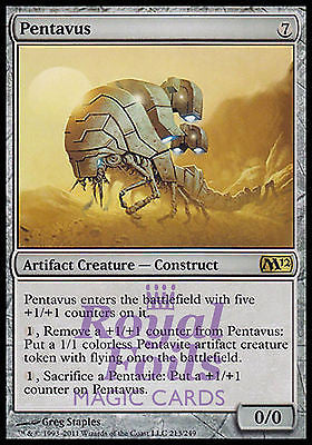 **1x FOIL Pentavus** MTG M12 Magic 2012 Core Set Rare MINT artifact