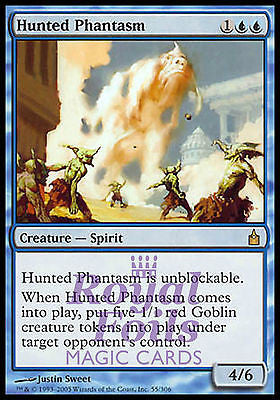 **1x FOIL Hunted Phantasm** RAV MTG Ravnica Rare MINT blue