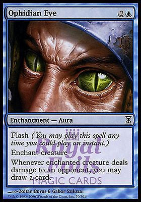 **1x FOIL Ophidian Eye** TSP MTG Time Spiral Common MINT blue