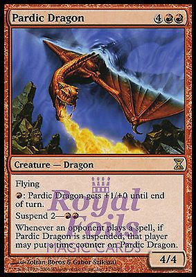 **1x FOIL Pardic Dragon** TSP MTG Time Spiral Rare MINT red