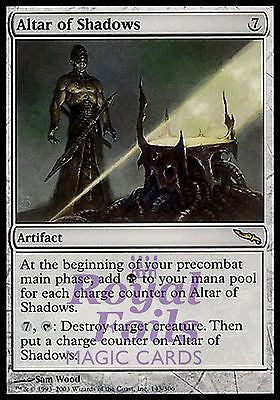 **1x FOIL Altar of Shadows** MDN MTG Mirrodin Rare MINT artifact