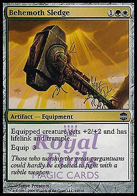 **1x FOIL Behemoth Sledge* ARB MTG Alara Reborn Uncommon MINT green white