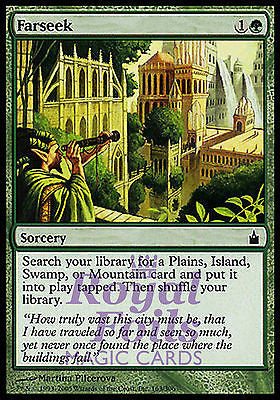 **1x FOIL Farseek** RAV MTG Ravnica Common MINT green
