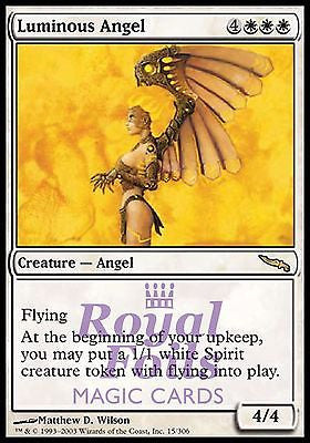 **1x FOIL Luminous Angel** MDN MTG Mirrodin Rare MINT white