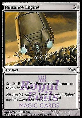 **1x FOIL Nuisance Engine** MDN MTG Mirrodin Uncommon MINT artifact