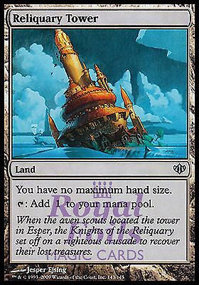 **1x FOIL Reliquary Tower** CON MTG Conflux Uncommon MINT land