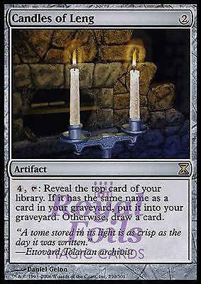 **1x FOIL Candles of Leng** TSP MTG Time Spiral Rare MINT artifact