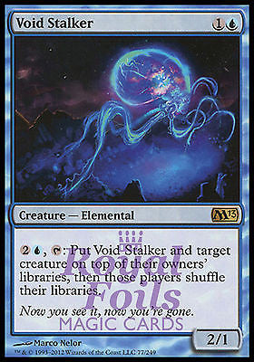 **1x FOIL Void Stalker** MTG M13 Core Set Rare MINT blue