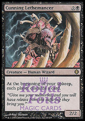 **1x FOIL Cunning Lethemancer** ALA MTG Shards of Alara Rare MINT black