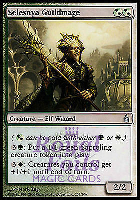 **2x FOIL Selesnya Guildmage** RAV MTG Ravnica Uncommon MINT green white