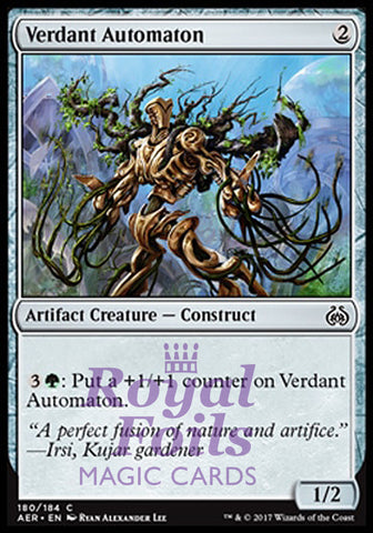 **4x FOIL Verdant Automaton** AER MTG Aether Revolt Common MINT artifact