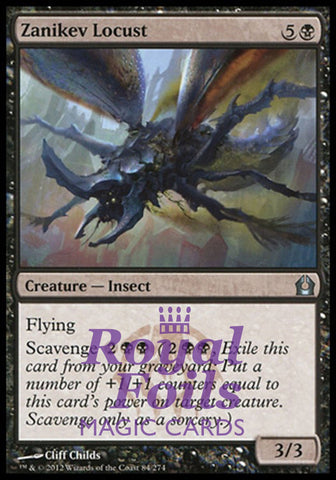 **4x FOIL Zanikev Locust** RTR MTG Return to Ravnica Uncommon MINT black