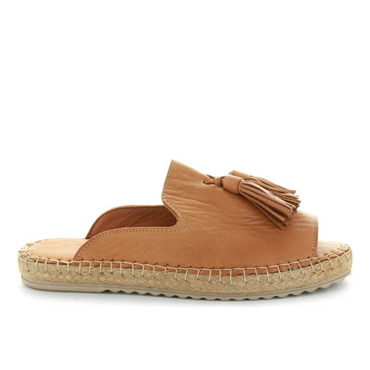 Dolphin | Tan | LE SANSA | LE FLATS Womens Shoes Online
