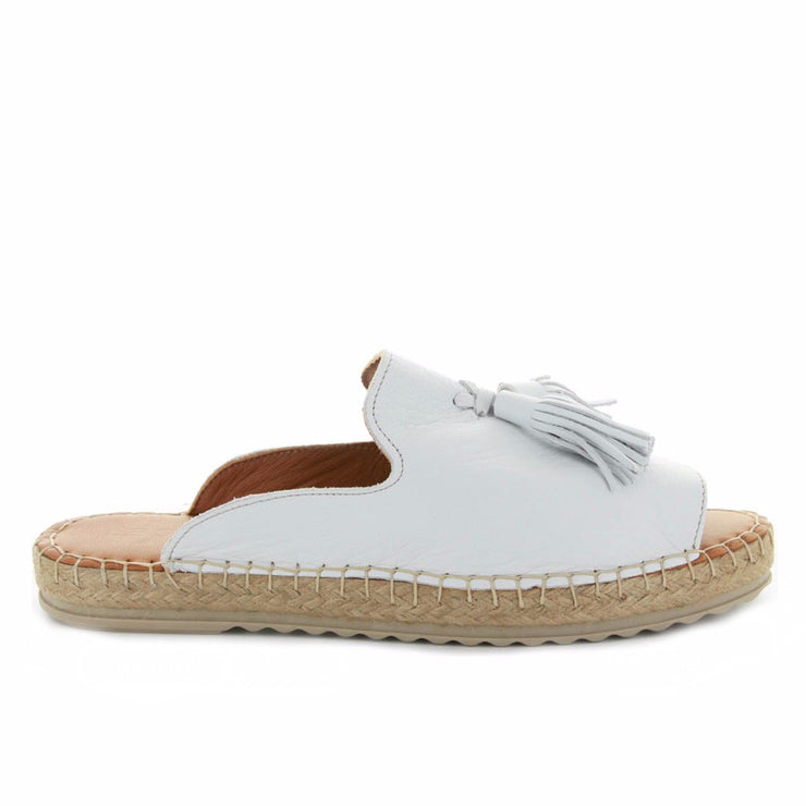 Dolphin | White | LE SANSA | LE FLATS Womens Shoes Online