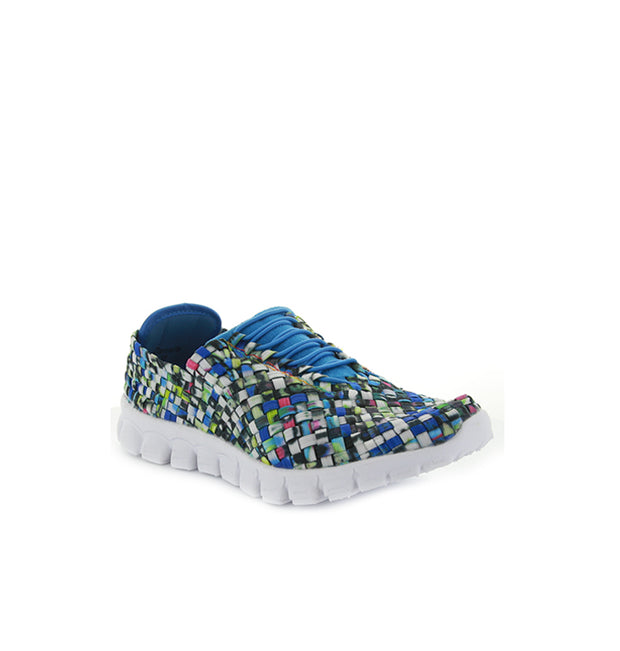 Danielle | White Blue Multi | CC Resorts | Casuals Womens Shoes Online