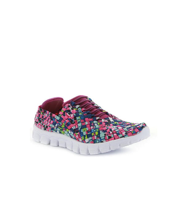 Danielle | Blue Fuchsia Multi | CC Resorts | Casuals Womens Shoes Online