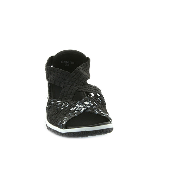 Saletto - Black/White