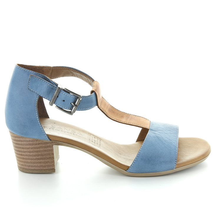 Leonna | Denim Tan | LE SANSA | LE HEELS Womens Shoes Online