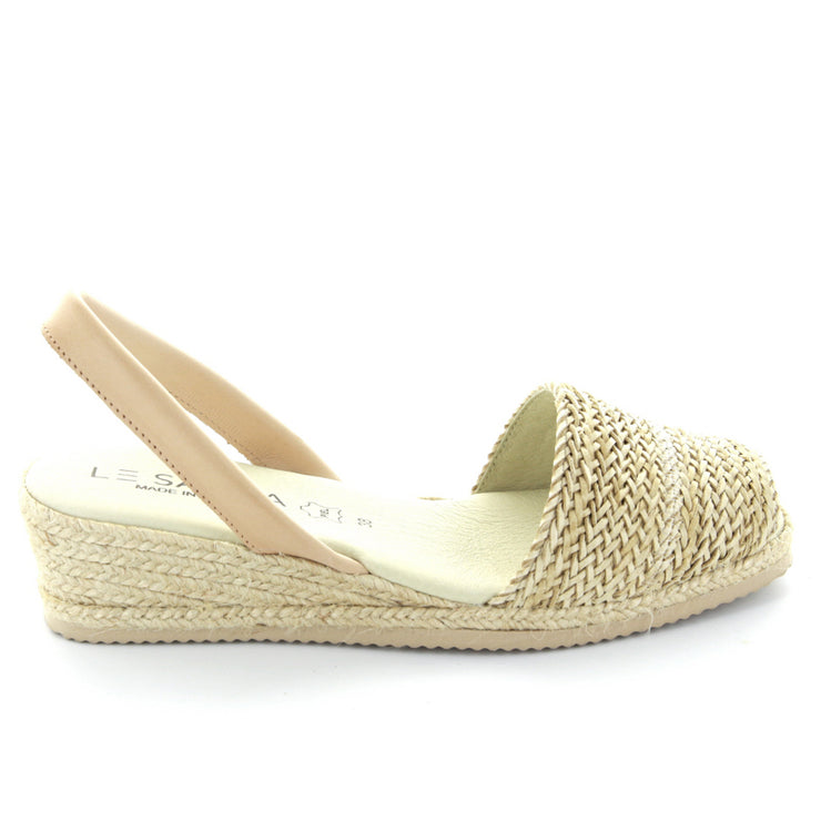 Priya | Beige | LE SANSA | LE WEDGE Womens Shoes Online