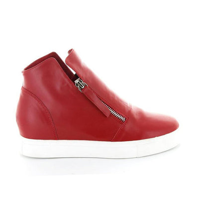LESANSA Red Smooth red stunner boots for  Women's Sneakers Casual boots