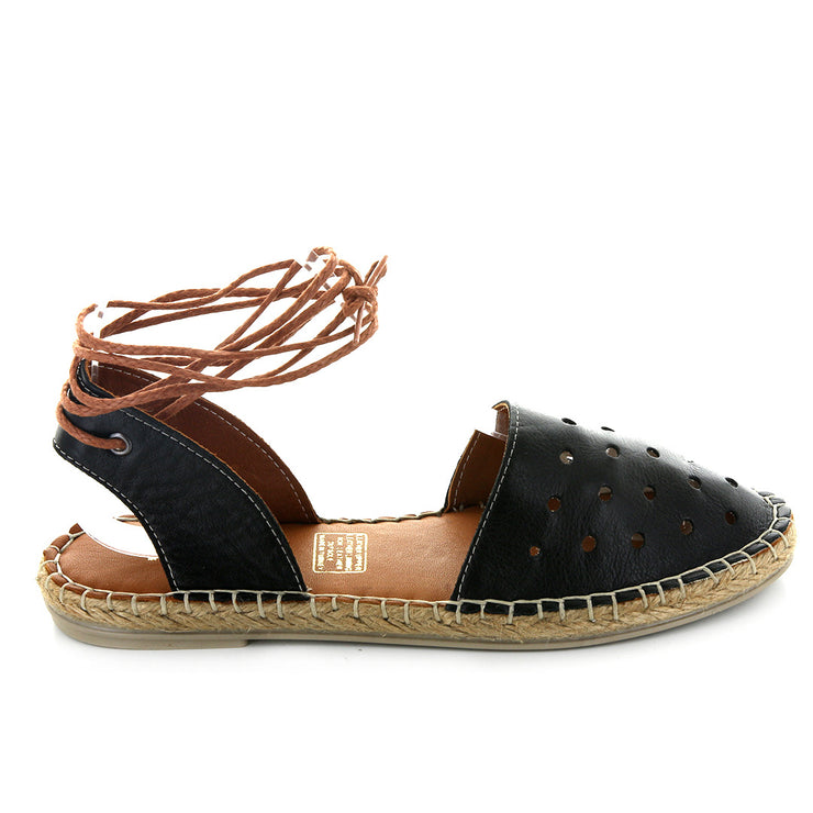 Decor | Black | LE SANSA | LE FLATS Womens Shoes Online