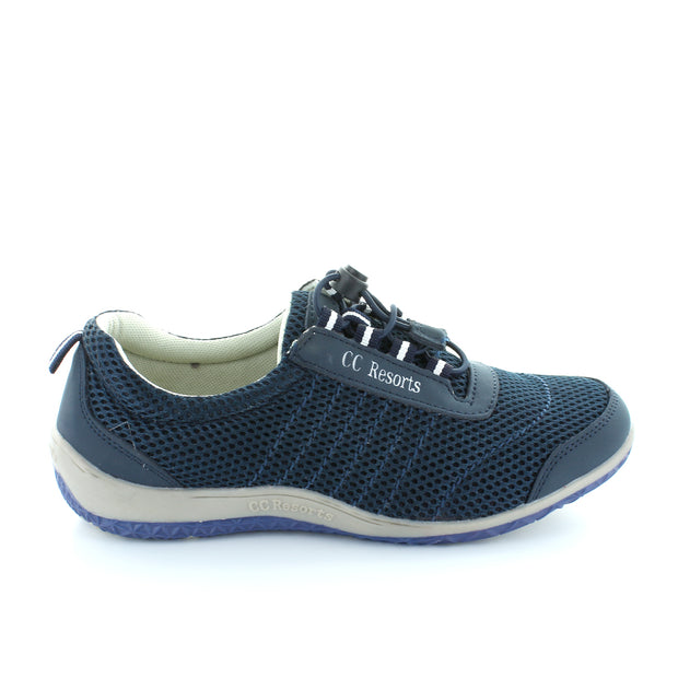 Sandra | Navy | CC Resorts | cc casuals Womens Shoes Online