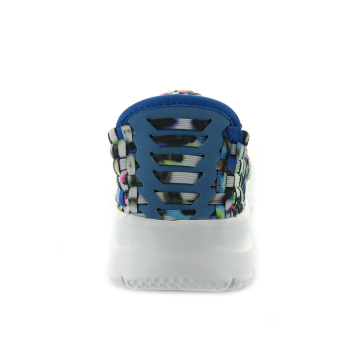 Stella  - White/Blue Multi