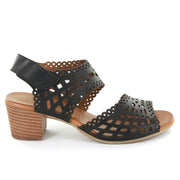 Lister | Black | LE SANSA | LE HEELS Womens Shoes Online