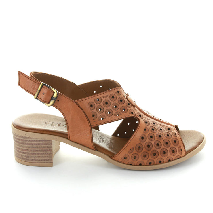 Leena | Tan | LE SANSA | LE HEELS Womens Shoes Online