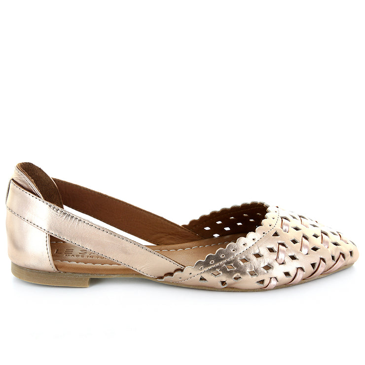 Lotus | RoseGold | LE SANSA | LE FLATS Womens Shoes Online
