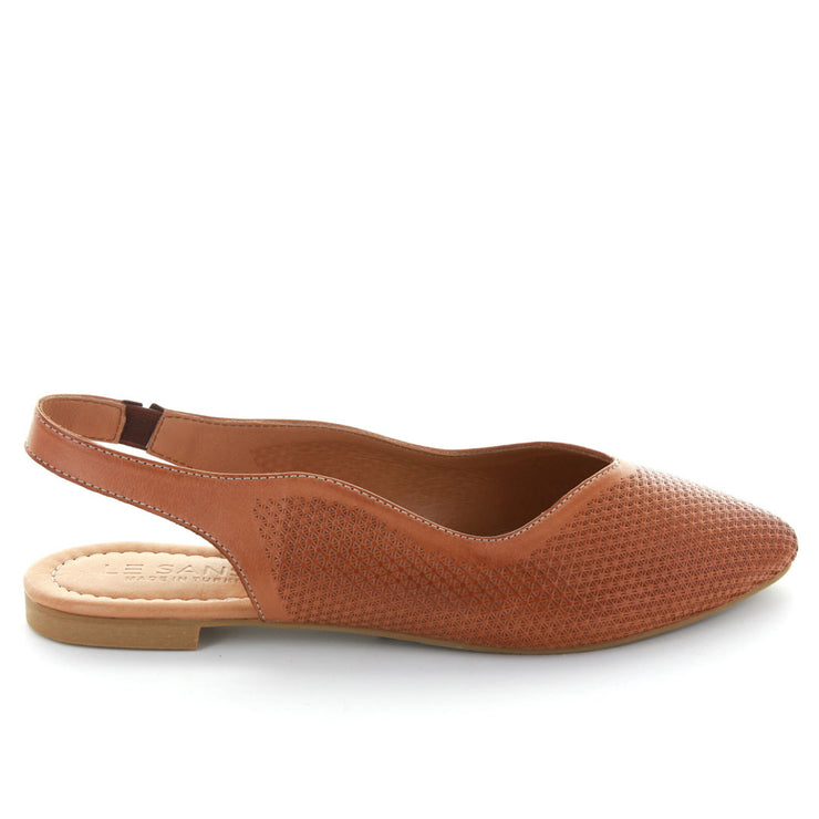 Luxe | Tan | LE SANSA | LE FLATS Womens Shoes Online
