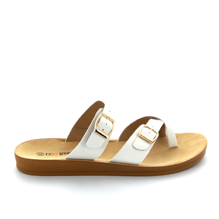 Victory | White | CC Resorts | cc flats Womens Shoes Online
