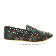 Austin | Black Floral Print | CC Resorts | cc casuals Womens Shoes Online