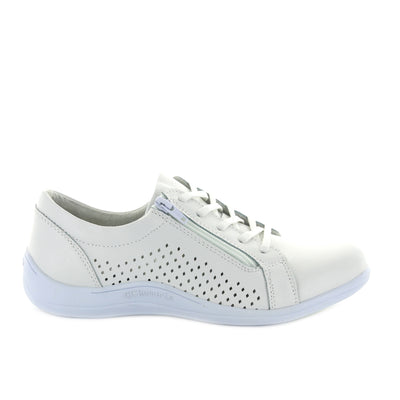 Aaron - Bowl/White CCResorts Women Bowling Shoes