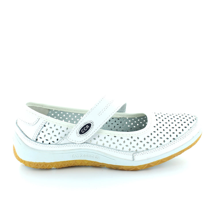Sunday | White/Navy | CC Resorts | cc casuals Womens Shoes Online