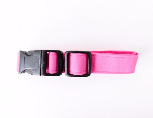 Solid Color Collars (Pink, Light Pink, Purple, Light Purple) - Charlotte's Pet