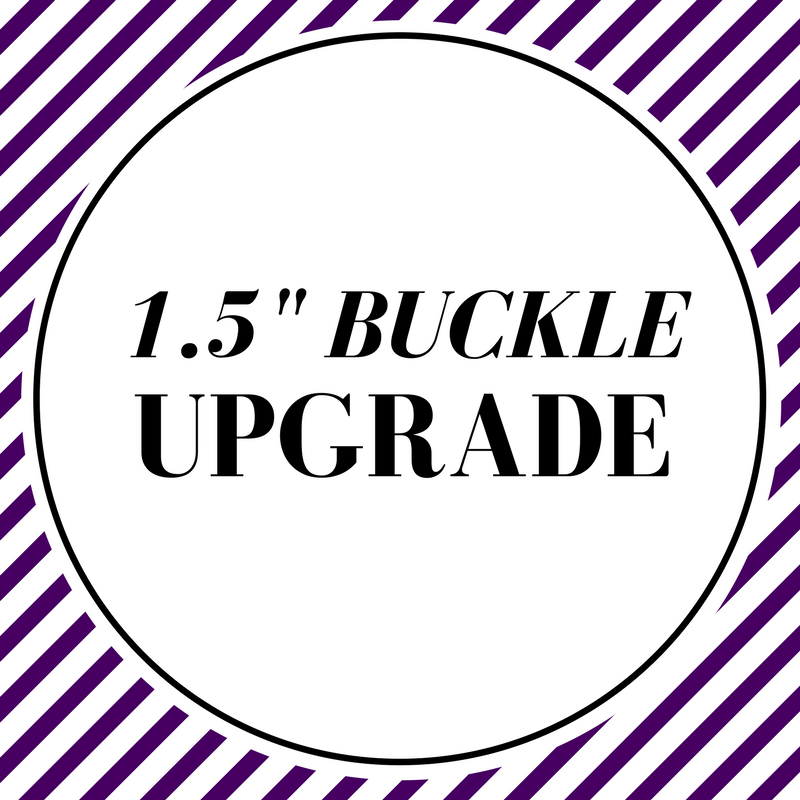 1.5 and 2 Inch Collar Buckle Upgrade - Charlotte's Pet