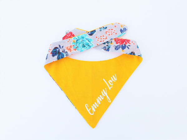 RBG collar Dog Bandana