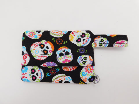 Sugar Skulls Waste Bag Holder - Charlotte's Pet