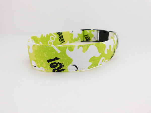 Beware Halloween Dog Collar - Charlotte's Pet