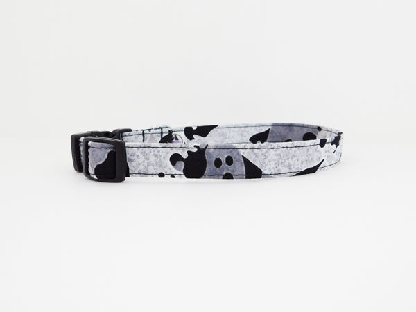 Ghost Halloween Dog Collar - Charlotte's Pet